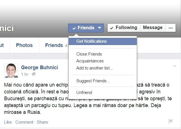 Facebook-Notificari