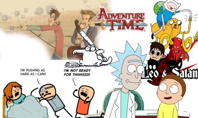 desene animate pentru adulți