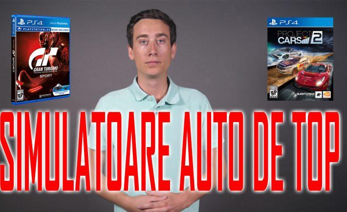 Gran Turismo Sport și Project Cars 2