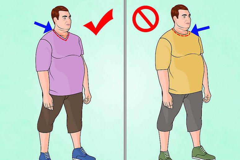 Cum să te îmbraci dacă ești plinuț