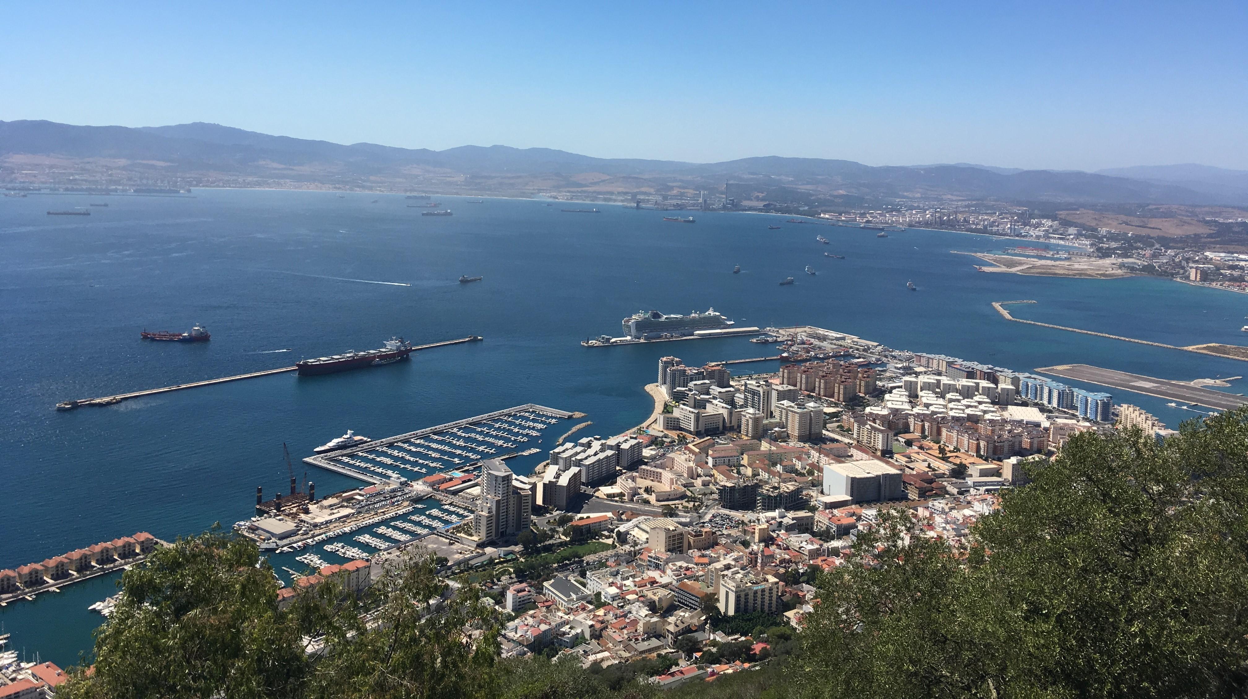 O zi în Gibraltar