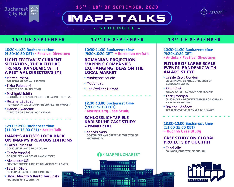 Festivalul iMapp Bucharest 2020 online